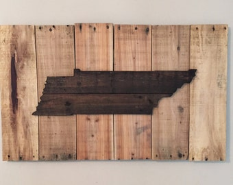 Reclaimed Lumber Tennessee Sign