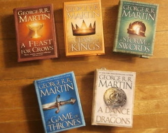 Song of Ice and Fire Miniature Book Ornament Set