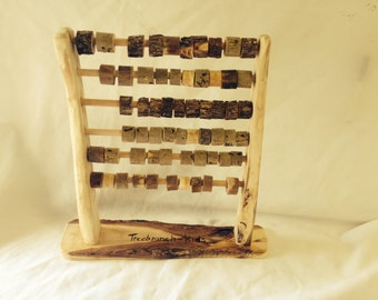 Handmade Natural Wooden Abacus