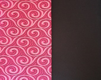 Tribal Fabric Ethnic Fabric African 100% Cotton South African ShweShwe Magenta Pink Tornados Print Fabric Cotton Fabric by the yard