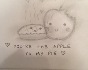 Cute Framed Sketch