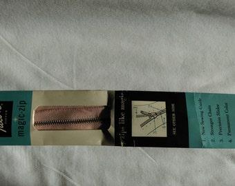 "Vintage 14"" Talon Zipper - Pink Style 20"