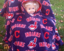 Cleveland Indians Toddler Car Seat Poncho