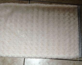 Handmade kitty bed slip cover-snowy white #128