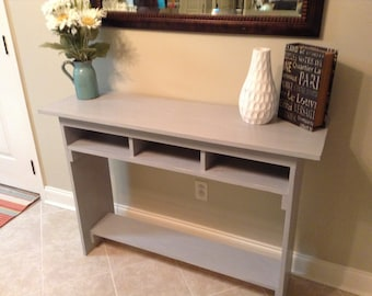 Rustic/Distressed Entryway table / Sofa Table/ Distressed Sofa Table / Console Table