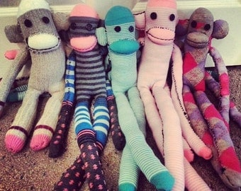 Cuddle Buddy Sock Monkey