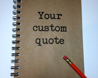 Journal, Bullet Journal, Personalized, Custom Journal, Custom Notebook, Personalized Notebook, Gift for Writers, Gift, Sketchbook, Notebook