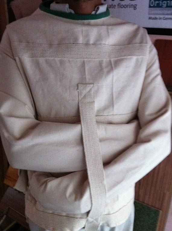 Items similar to Straight Jacket made of organic 100% Cotton ...