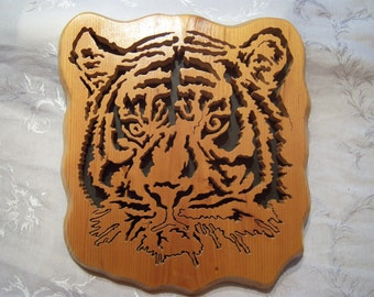 Scroll Saw Tiger Picture