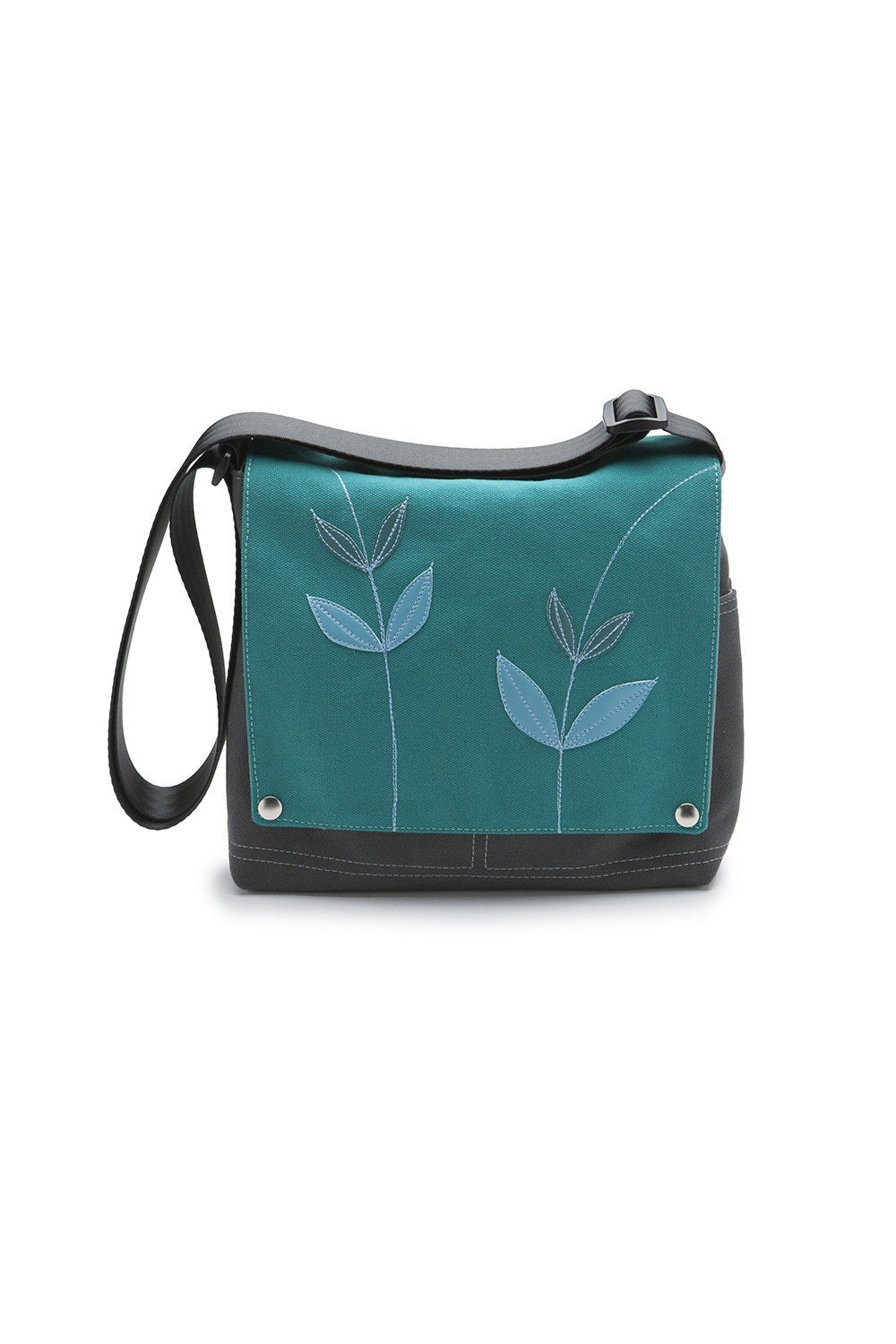 Canvas Truckette Bag - 'Twins' Green