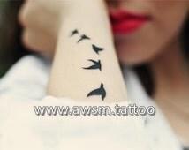 Canada Goose' fake tattoos