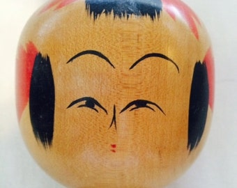 Vintage Kokeshi Doll from Japan