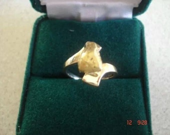 Gold Nugget Ring Ladies