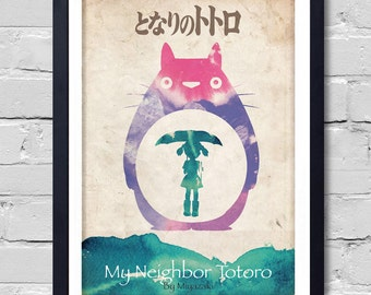 My Neighbor Totoro. Poster