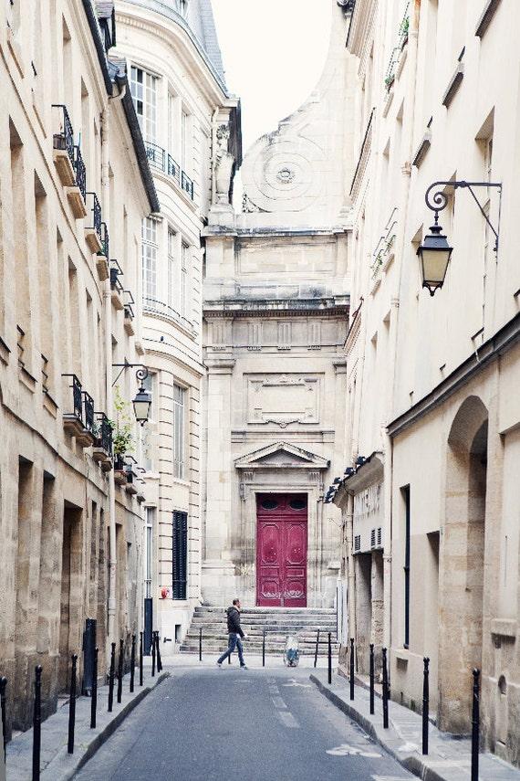 Items similar to Paris Apartment, Paris Street, Le Marais ...