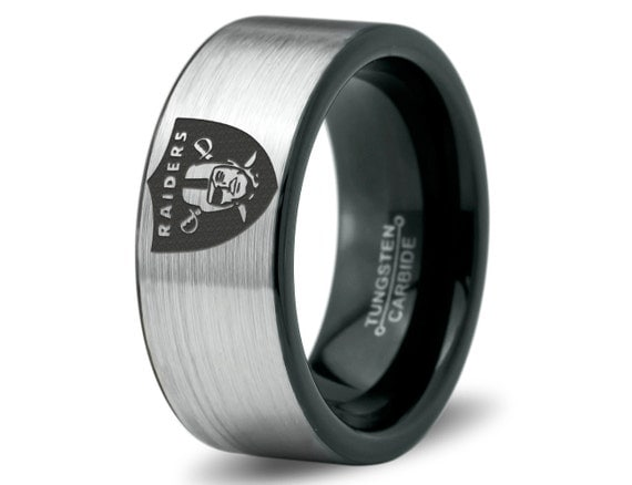 Oakland Raiders Ring Mens Fanatic NFL Sports by ZealotDesigns