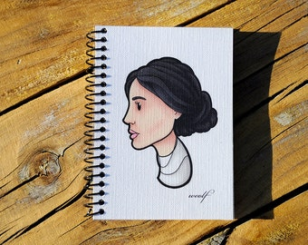 Virginia Woolf notebook (British writer)