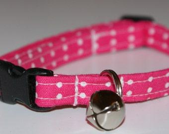 Pink for a Princess Cat Collar