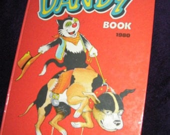 Vintage, The Dandy Book 1980. Hardback Book.