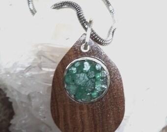 Colombian Emeralds Pendant