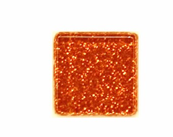 Copper Glitter Crystal Glass MosaicTiles