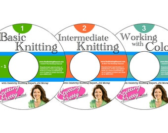 The Knitting Pretty Series of Instructional Videos