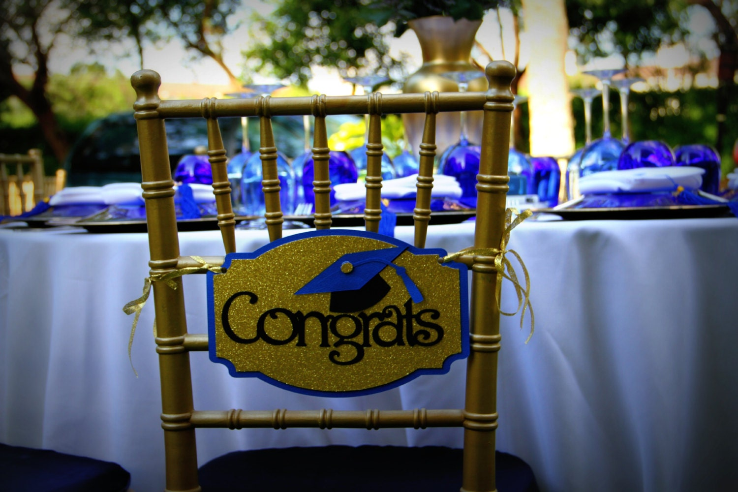 Congrats Chair Sign Graduation Chair Sign Congratulations