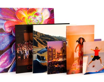 Custom Printed Gallery Wrapped Mounted Canvas