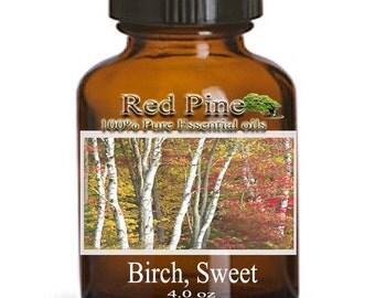 Birch Sweet Essential Oil - Betula lenta  - 100% Pure Therapeutic Grade