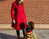 Skippy's Fantastic Rasta-mon Dog Sweater