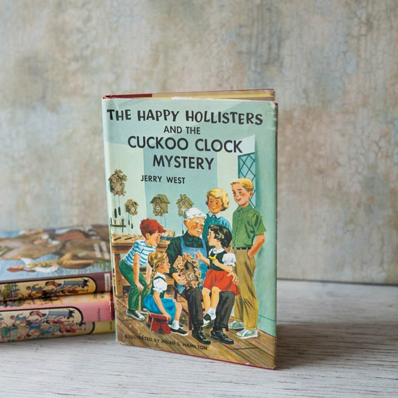 1950s The Happy Hollisters And The Cuckoo Clock Mystery By