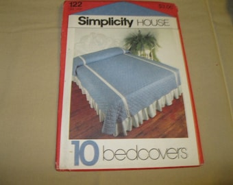 Simplicity House Pattern #122 - 10 Bedcovers