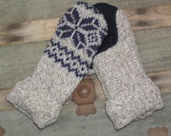 Sweater Mittens
