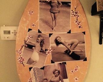 Marilyn Monroe Skimboard Wall Art