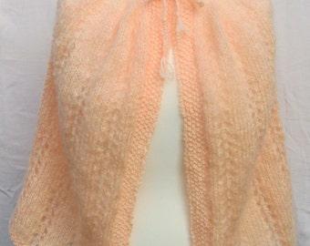 Soft Peach cape