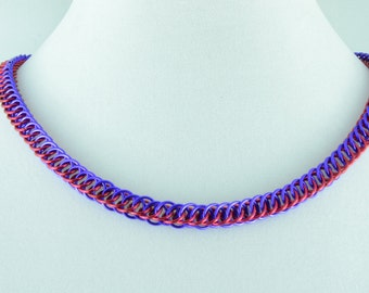 Persian 4 in 1 Chainmaille necklace.