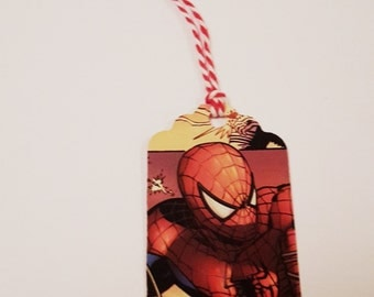 10 Up-Cycled Comic Tags - Non-specific