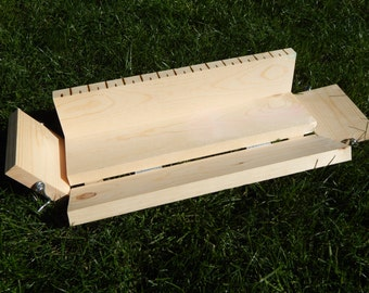 4-5 lb Handcrafted Wooden Soap Mold with Easy Release Sides