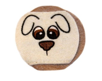 Child Puppy Eyeglass Eye Patch