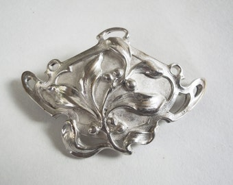 c1900 Antique Art Nouveau Pin Brooch by Fishel, Nessler & Company