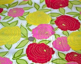 Flower Power Fabric by Robert Kaufman