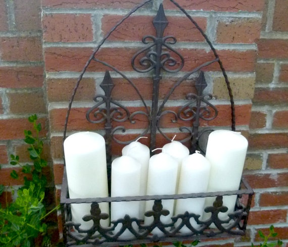 Gothic Style Candle Holder by SteeleandCox on Etsy