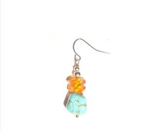 Sea and Sand Earrings