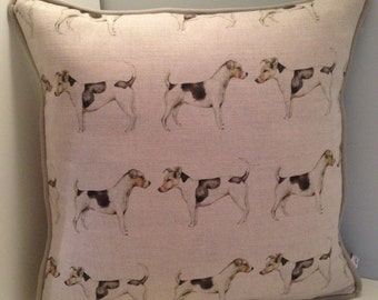 "Jack Russell Cushion 18"" x 18"""