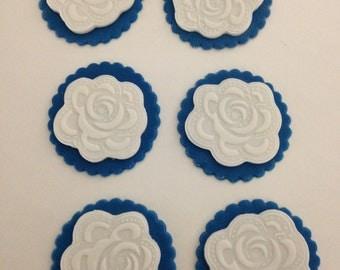 flower cupcake topper