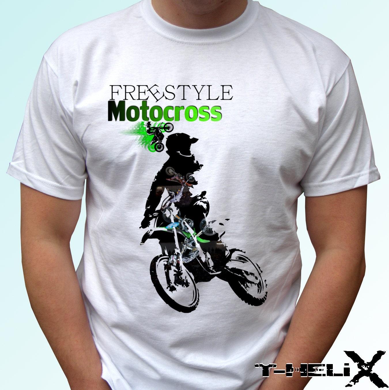 Design t shirt motocross -  Zoom