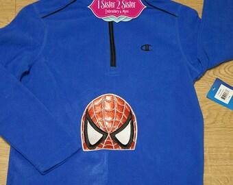 Sweatshirt Web Slinger Super Hero Sweatshirt! Inspired by Marvel's The Amazing Spiderman!