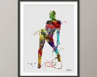 catwoman art print catwoman watercolor art print catwoman decor catwoman poster art poster print watercolor  catwoman Watercolor A132