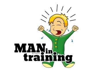 Man in Training Screamer T-Shirt