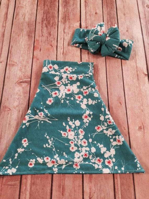 Baby maxi skirt childrens maxi skirt toddler maxi skirt baby skirt